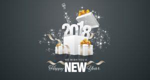 Happy New Year 2018 From Brand Door