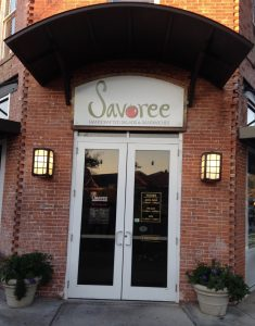 Brand Marketing: Entrance to restaurant offering healthy food options