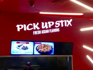 Tagline Example: Pick Up Stix Restaurant