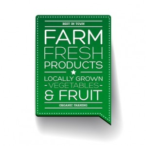 Farm Fresh are attribute words